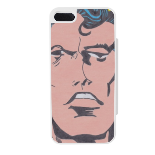 SUPERMAN 2014 Flip sportello laterale iPhone5