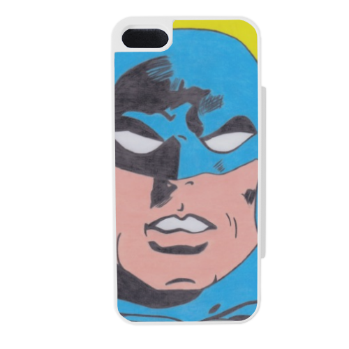 BATMAN 2014 Flip sportello laterale iPhone5