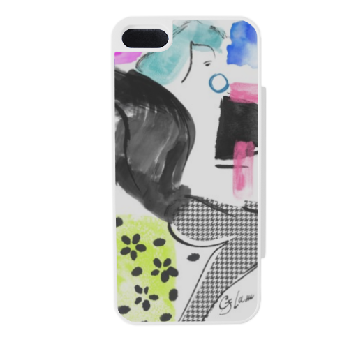 Glamour Flip sportello laterale iPhone5