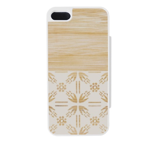 Bamboo and Japan Flip sportello laterale iPhone5