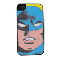 BATMAN 2014 Flip sportello laterale iPhone4