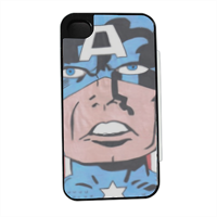 CAPITAN AMERICA 2014 Flip sportello laterale iPhone4