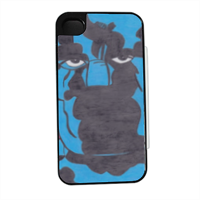 PANTERA NERA Flip sportello laterale iPhone4