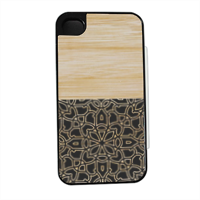 Bamboo Gothic Flip sportello laterale iPhone4
