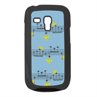 uccellini e note musicali Cover Samsung galaxy s3 mini
