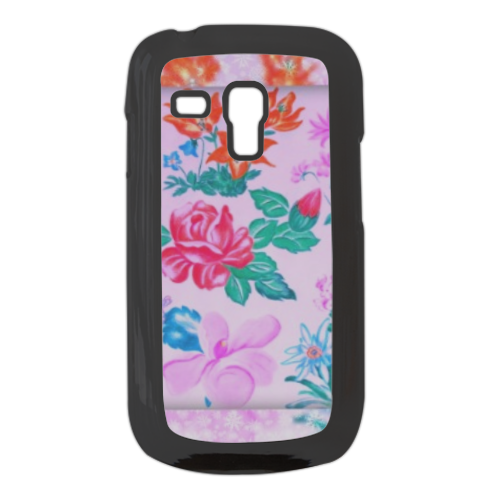 Flowers Cover Samsung galaxy s3 mini