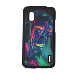 ragazza fluorescente Cover Google Nexus 4