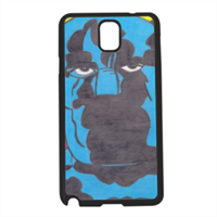 PANTERA NERA Cover Samsung Galaxy note 3
