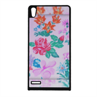 Flowers Cover Huawei Ascend p6