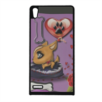 Collana I Love My Dog Cover Huawei Ascend p6