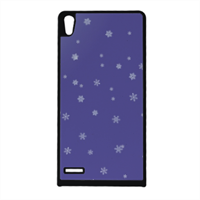 Neve natalizia Cover Huawei Ascend p6