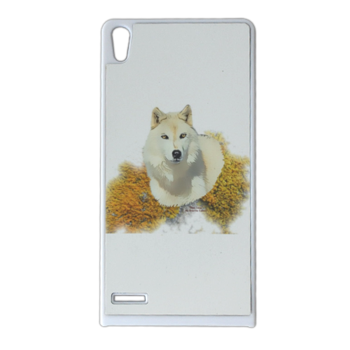 Mon Loup Expecto Patronum Cover Huawei Ascend p6