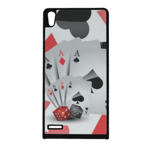 Poker Cover Huawei Ascend p6