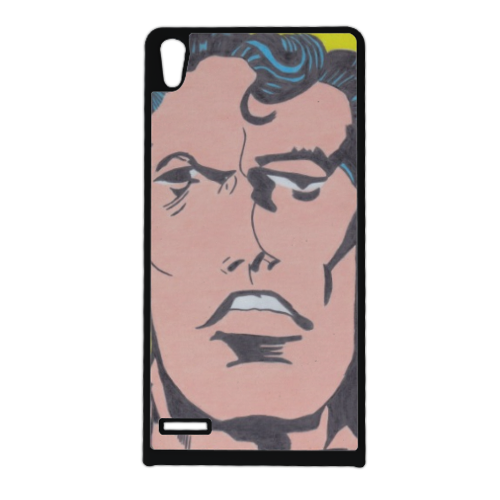 SUPERMAN 2014 Cover Huawei Ascend p6