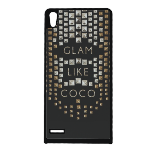 Glam Like Coco Cover Huawei Ascend p6