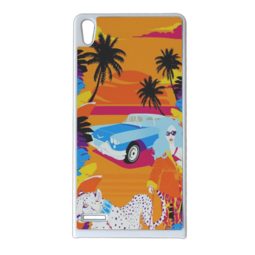 Rich Summer  Cover Huawei Ascend p6