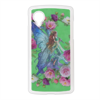 Fata con Fiori Cover Google Nexus 5