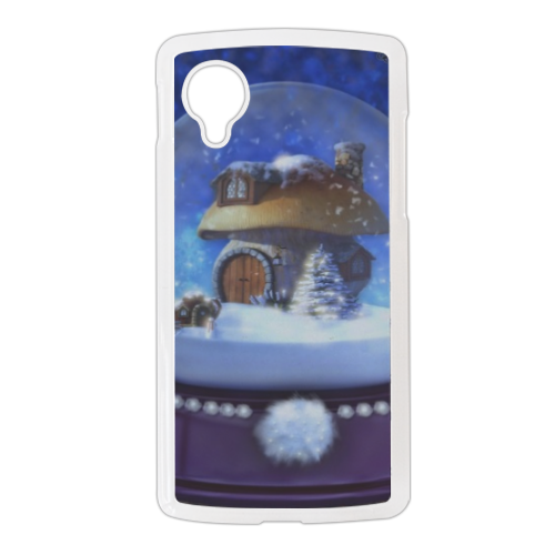 Globo di Neve Fantasy Cover Google Nexus 5