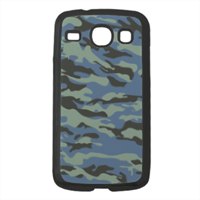 Blue camouflage  Cover Samsung Galaxy Core