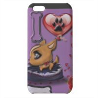 Collana I Love My Dog Cover iPhone 5c stampa 3D