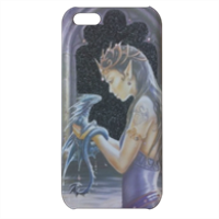 Dragon woman Cover iPhone 5c stampa 3D