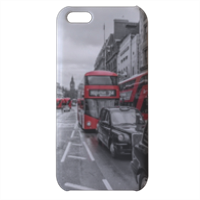 London red and white Cover iPhone 5c stampa 3D