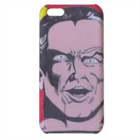BLACK ADAM Cover iPhone 5c stampa 3D