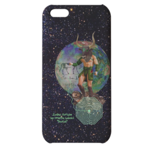 Zodiac Fortune Tau Cover iPhone 5c stampa 3D