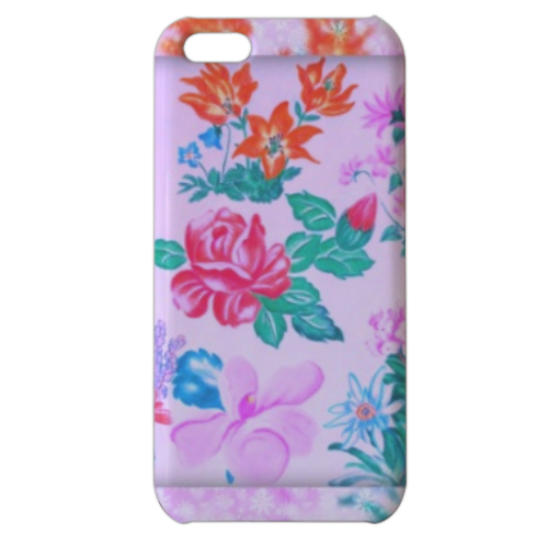 Flowers Cover iPhone 5c stampa 3D