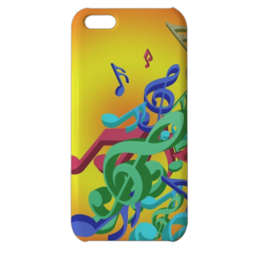 Musica Cover iPhone 5c stampa 3D