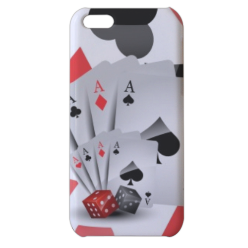 Poker Cover iPhone 5c stampa 3D