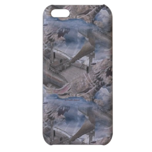 Lyon Rampant Cover Cover iPhone 5c stampa 3D