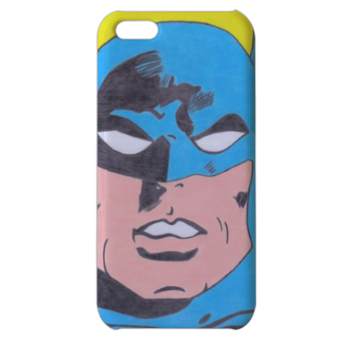BATMAN 2014 Cover iPhone 5c stampa 3D