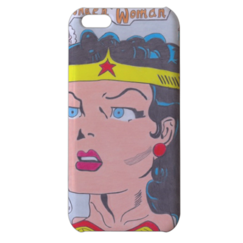 WONDER WOMAN 2015 Cover iPhone 5c stampa 3D