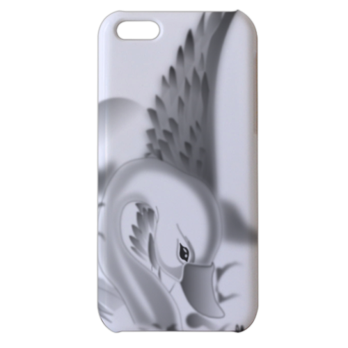Cigno Cover iPhone 5c stampa 3D