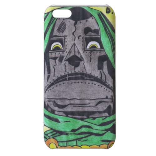 DOTTOR DESTINO Cover iPhone 5c stampa 3D