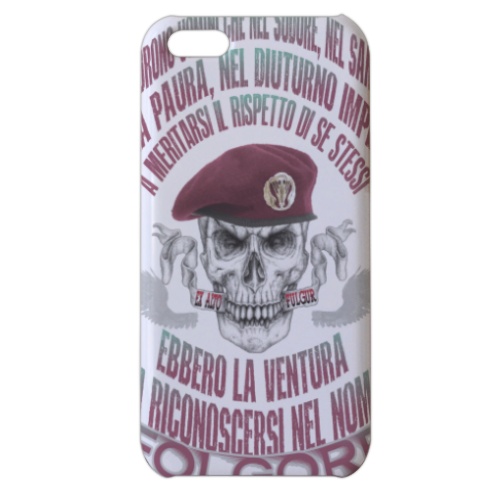 Come Folgore dal cielo Cover iPhone 5c stampa 3D