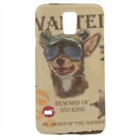 Wanted Rambo Dog Cover samsung Galaxy s5 3D
