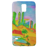 Dubai summer Cover samsung Galaxy s5 3D