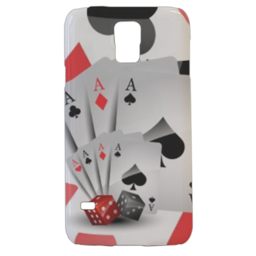 Poker Cover samsung Galaxy s5 3D