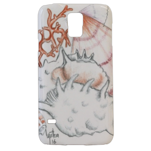 Conchiglie2 Cover samsung Galaxy s5 3D