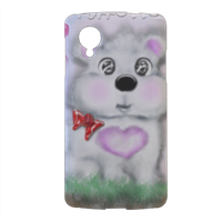 Puffotto Cover nexus 5 stampa 3d