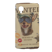 Wanted Rambo Dog Cover nexus 5 stampa 3d