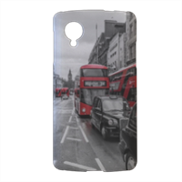 London red and white Cover nexus 5 stampa 3d