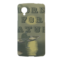 Born for Nature Cover nexus 5 stampa 3d