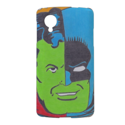 THE COMPOSITE SUPERMAN Cover nexus 5 stampa 3d