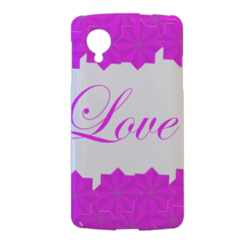 Roseventi Love Cover nexus 5 stampa 3d