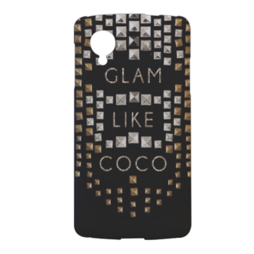 Glam Like Coco Cover nexus 5 stampa 3d