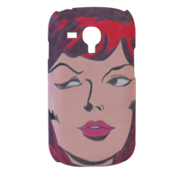 VEDOVA NERA 2014 Cover samsung galaxy s3 mini 3d
