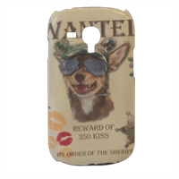 Wanted Rambo Dog Cover samsung galaxy s3 mini 3d